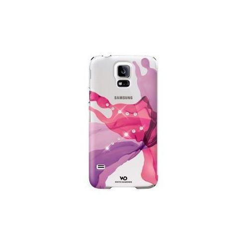 Etui HAMA do Galaxy S5 White Diamonds Book Case Liquids Różowy (4260237634119)