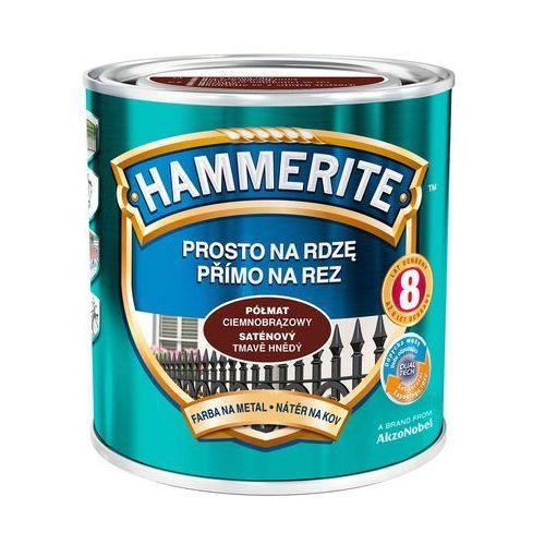 Hammerite Prosto na rdzę - efekt półmat ciemnobrązowy 0,7l (5011867046914)