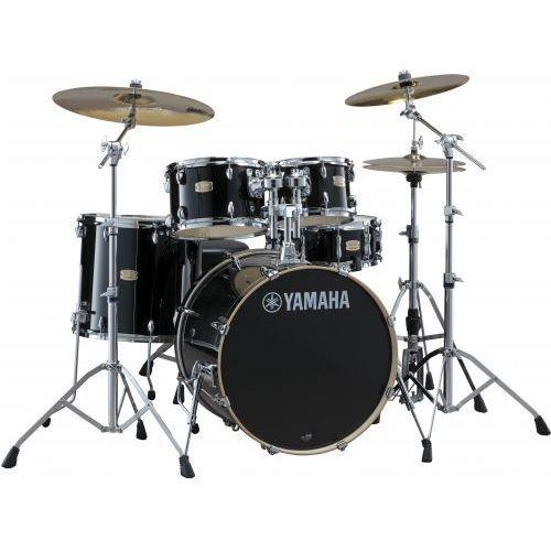 stage custom birch fusion zestaw perkusyjny z hardwarem (kolor: raven black) marki Yamaha