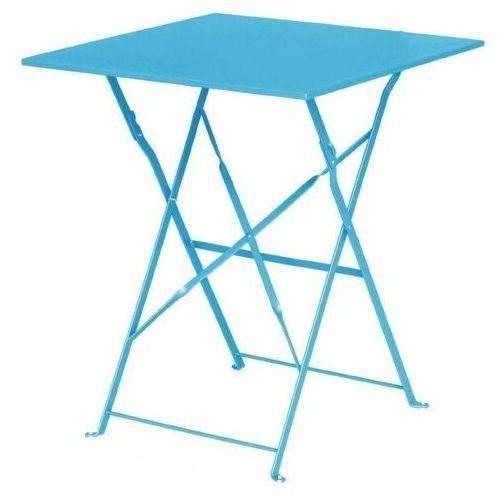 Bolero Stolik kawiarniany niebieski | 60x60x(h)71cm