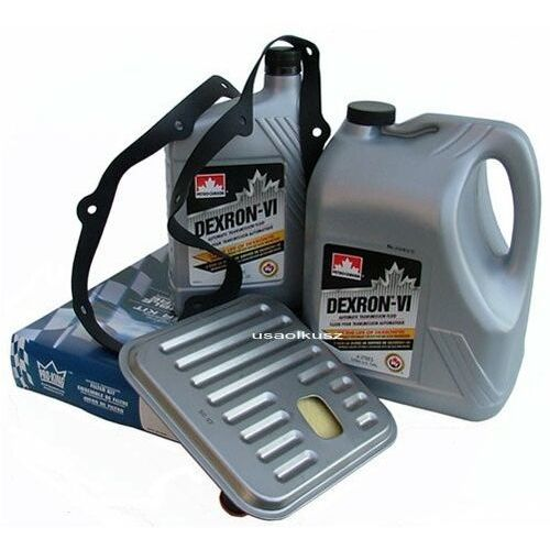 Filtr oraz olej Dextron-VI automatycznej skrzyni biegów Chrysler LHS