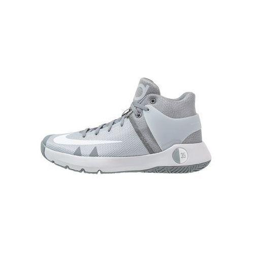 Nike Performance TREY 5 IV Obuwie do koszykówki wolf grey/white/cool grey z kategorii Koszykówka