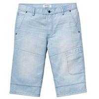 Długie bermudy dżinsowe regular fit jasnoniebieski marki Bonprix