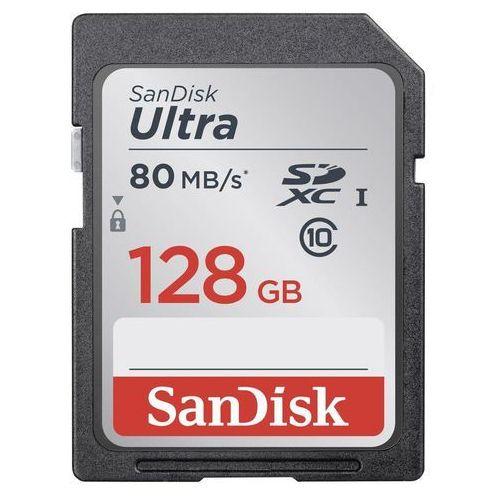 Karta pamięci SDXC SanDisk SDSDUNC-128G-GN6IN, 128 GB, Class 10, UHS-I, 80 MB/s, Ultra®