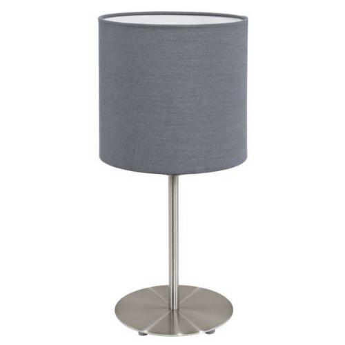 Lampa stołowa pasteri szara - 18 cm, 31596 marki Eglo