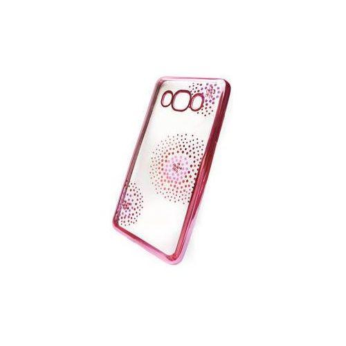 Obudowa dla telefonów komórkowych Beeyo Flower Dots pro Samsung Galaxy J5 (2016) (BEASAGAJ52016TPUFLPI) Różowy