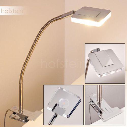 Paide lampa z klipsem LED Srebrny, 1-punktowy - Nowoczesny - Obszar wewnętrzny - Paide - Czas dostawy: od 3-6 dni roboczych (4058383157169)