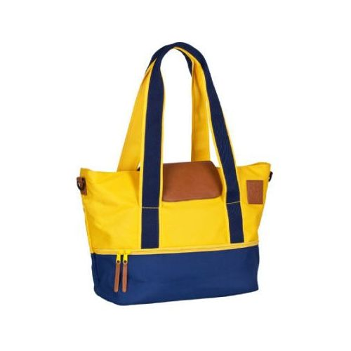 LÄSSIG Torba na akcesoria do przewijania Vintage Carry-All Bag navy/yellow