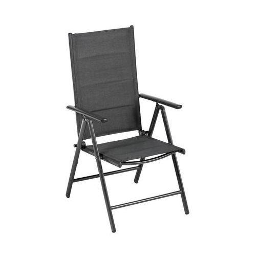 Krzesło ogrodowe NIAGARA aluminiowe antracytowe NATERIAL (5901171206299)
