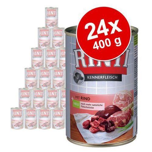 Rinti Megapakiet  pur, 24 x 400 g - kaczka