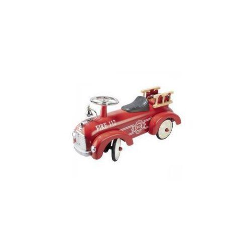Wyścigowy jeździk retro straż pożarna, Goki