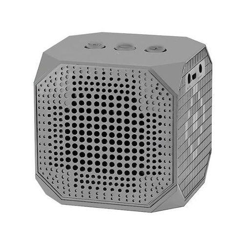 Qoltec Przenośny głośnik Bluetooth   3W   Double Speaker   Szary (5901878501598)