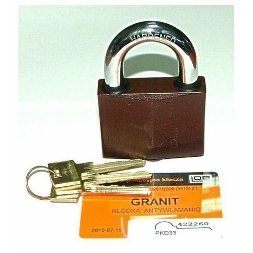 Kłódka granit 1 atest klasy 4 marki Lob