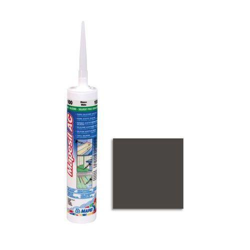 Silikon sanitarny MAPESIL AC 120 310 ml Czarny MAPEI (8022452010217)