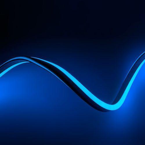 Ledart Wąż świetlny led neon flex niebieski 230v 1m