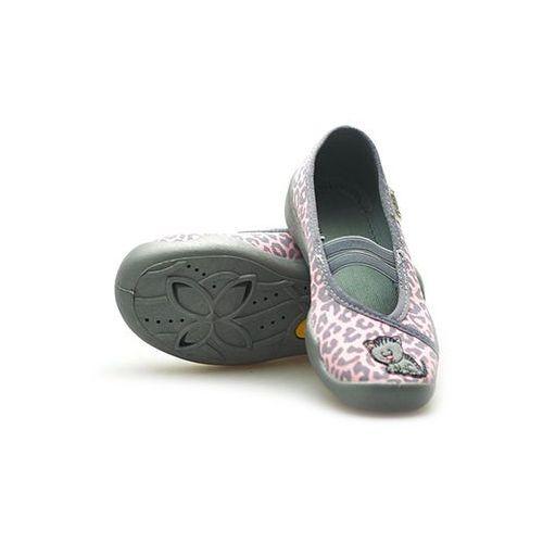 Kapcie dziecięce Befado 116X185 Różowe/Szare, kolor różowy