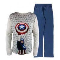 "Męska piżama Avengers ""Kapitan Ameryka Tarcza"" S"
