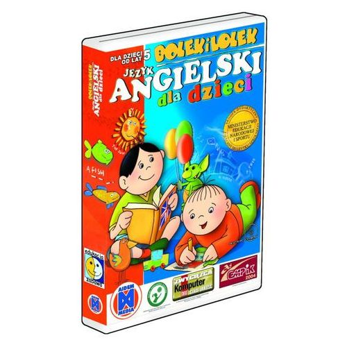 Bolek i lolek język angielski dla dzieci marki Aidem media - OKAZJE