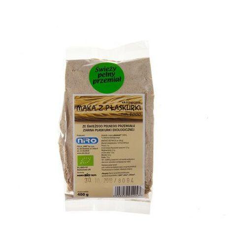 Badapak Bio mąka pełnoziarnista z płaskurki 400g 1 szt.