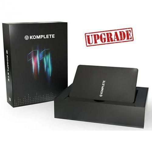 komplete 11 upgrade - upgrade dla posiadaczy komplete 11 select, kontakt 1-5, instrumentów konrol s, maschine marki Native instruments