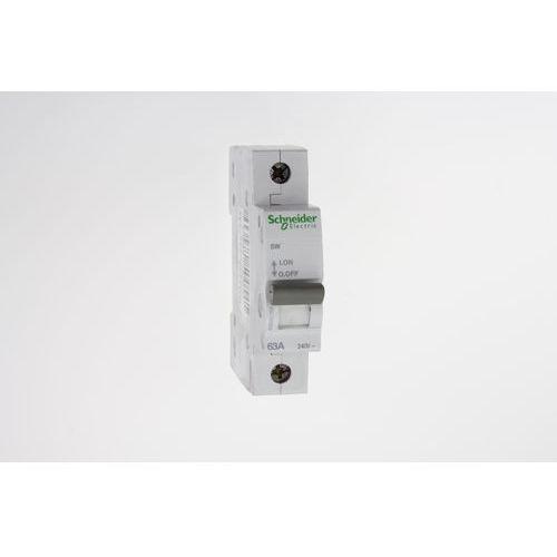 schneider electric Rozłącznik izolacyjny modułowy sw 1p 63a 240vac a9s62163 schneider electric