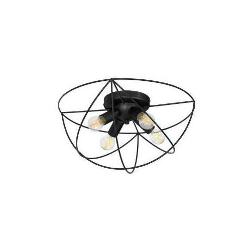 Luminex copernicus 1101 plafon lampa sufitowa 4x60w e14 czarny
