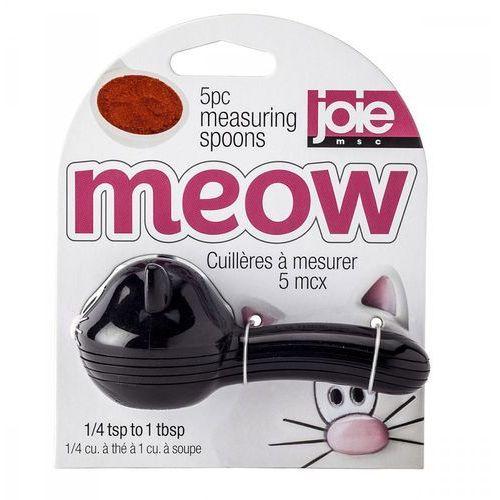 Łyżeczki miarki meow 10 cm czarne marki Msc