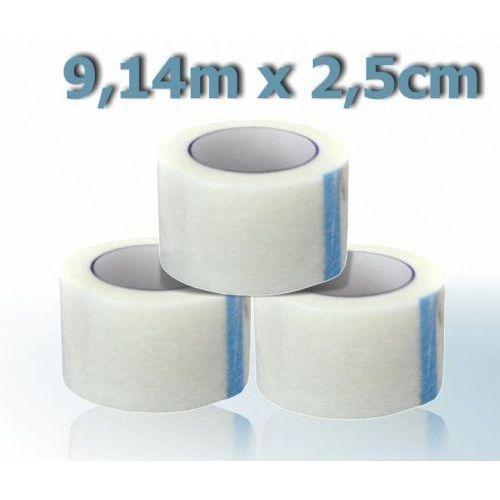 Przylepiec hypoalergiczny włókninowy ogólnego zastosowania 9,14mx2,5cm, 39588