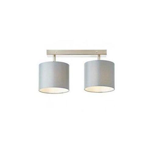 sandra 85029/22 plafon lampa sufitowa 2x40w e14 szara marki Brilliant