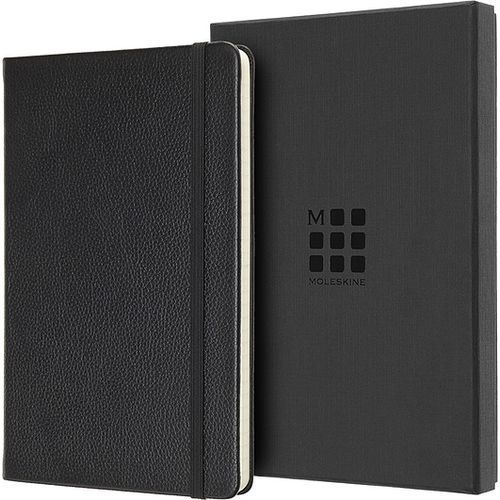 Moleskine Notes okładka skórzana edycja limitowana l w linię czarny (8058647620671)
