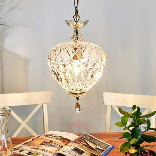 Urocza, kryształowa lampa wisząca andara śr. 25 cm marki Orion