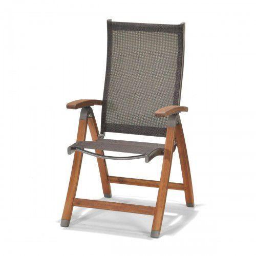Krzesło składane z podłokietnikami manhattan marki Scancom
