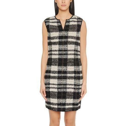 Sukienka Marc Cain Collections FC 21.26 M22 dla kobiet, kolor: beżowy, rozmiar: 44 (rozmiar producenta: 6), FC 21.26 M22-206