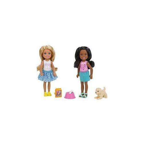 Barbie Lalka Chelsea z akcesoriami (blondynka i mulatka)