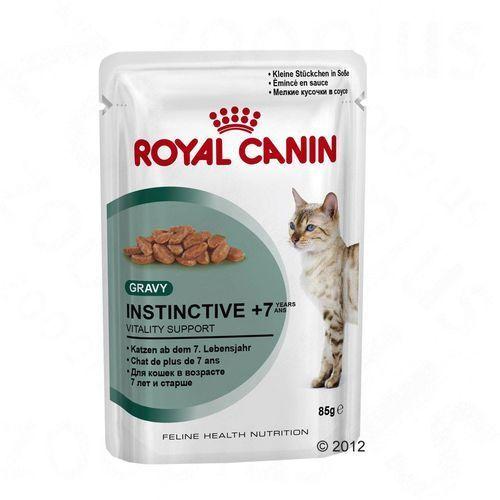 Royal Canin Instinctive +7 w sosie - 12 x 85 g