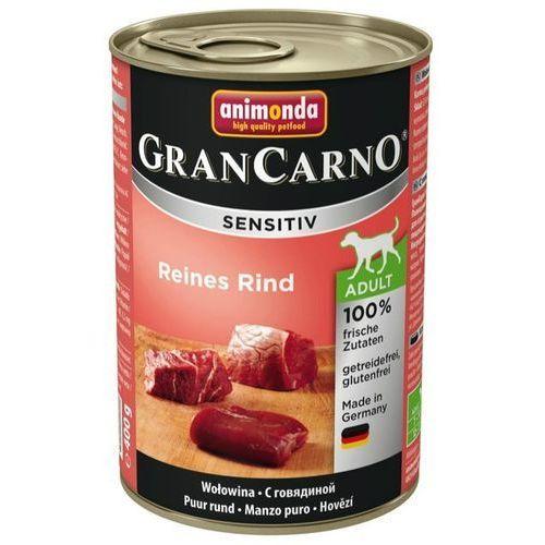 Animonda gran carno sensitiv wołowina 400g marki Dolina noteci