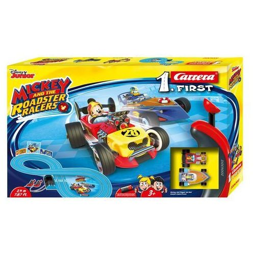 Carrera Tor samochodowy carrera 1. first - mickey and the roadster racers 63012