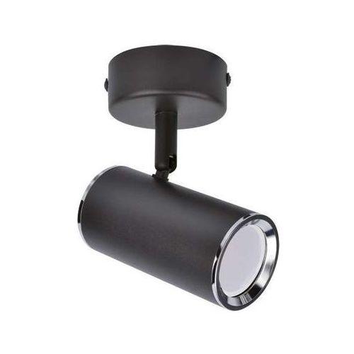 LAMPA sufitowa MEGAN 03656 Ideus natynkowa OPRAWA metalowy reflektorek kinkiet tuba ścienna czarna, 03656