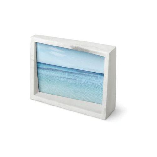 Umbra - ramka na zdjęcia edge 5x7 - drewno naturalne - biały