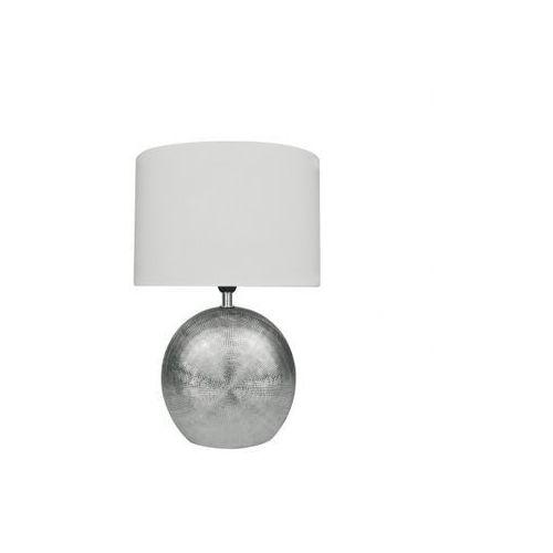 Lampa stołowa LEGEND 456 Srebrna h37, 845601706000