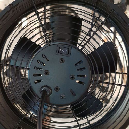 Beacon lighting Wentylator stołowy breeze, Ø 20cm, brąz/orzech (9333509138129)