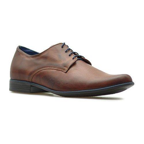 Pantofle Matti 316 Brązowe lico, kolor brązowy