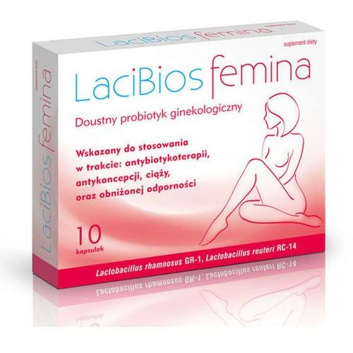 Kapsułki LACIBIOS FEMINA x 10 kapsułek