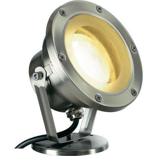 Reflektor zewnętrzny SLV 229730, 1x11 W, GX53, IP67, (ØxW) 9.5 cmx17 cm