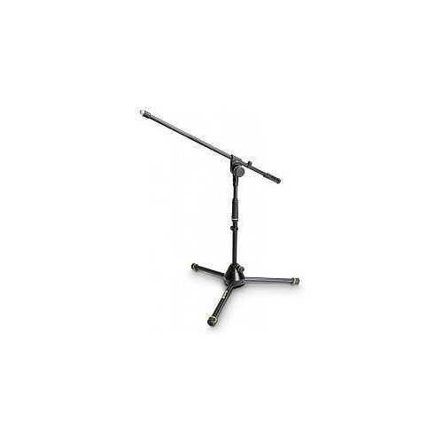 Gravity MS 4211 B - statyw mikrofonowy, Short Microphone Stand With Folding Tripod Base And 1-Point Adjustment Boom