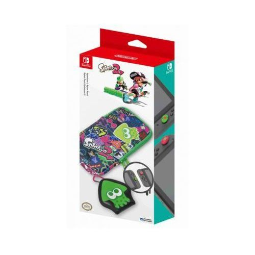 Zestaw akcesoriów nsw-048u splatoon 2 splat pack do nintendo switch marki Hori