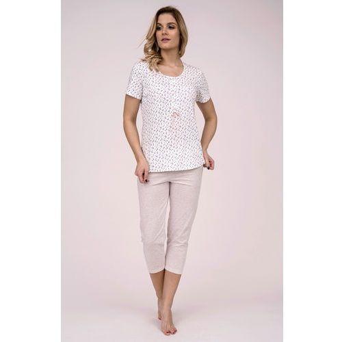 Piżama 175 kr/r m-xl m, ecru-beżowy melanż. cana, l, m, xl marki Cana
