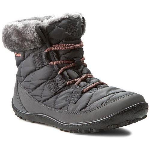 Śniegowce COLUMBIA - Youth Minx Shorty Omni-Heat Waterproof BY1334 Shark/Melonade 011
