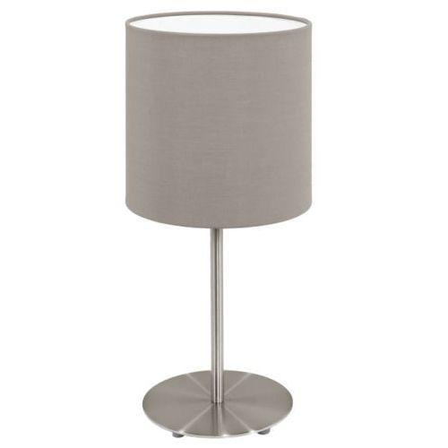 lampa stołowa PASTERI ciemnoszara - 18 cm, EGLO 31595