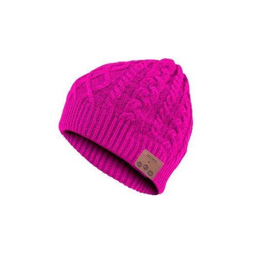 ARCHOS MUSIC BEANY różowa czapka z słuchawkami BT, kolor różowy
